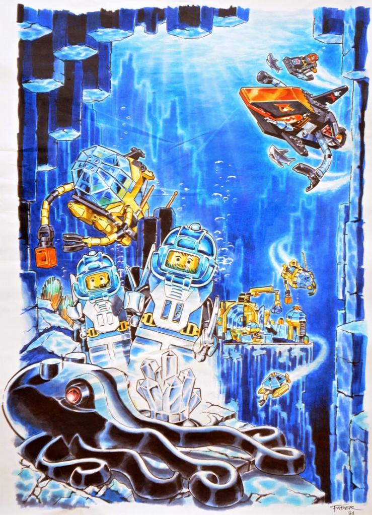 Lista Minifigure LEGO Aquazone