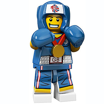 Minifigure LEGO - Boxer