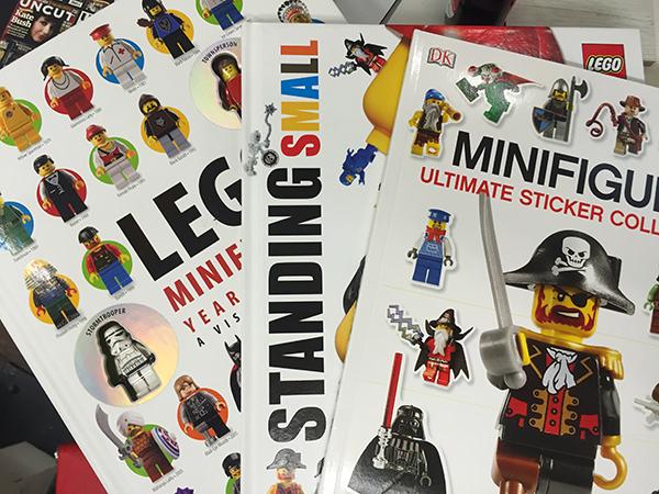 Minifigure LEGO - Libri LEGO