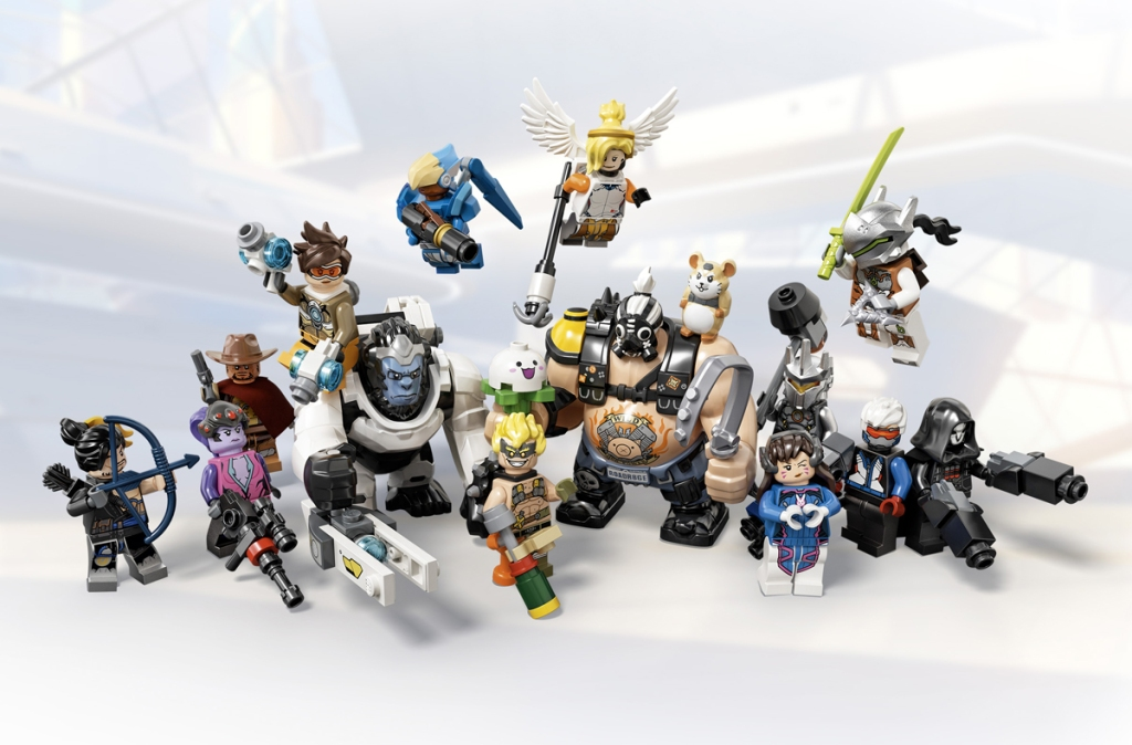 Lista Minifigure LEGO Overwatch