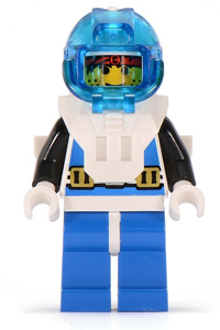 Minifigura LEGO Aquazone Aquanauts - Comandante Jock Clouseau