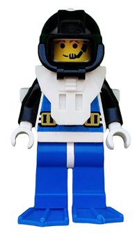 Minifigura LEGO Aquazone Aquanauts - Sommozzatore