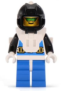 Minifigura LEGO Aquazone Aquanauts - Tecnico Subacqueo