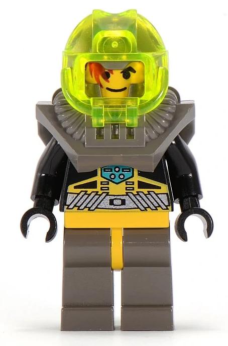 Minifigura LEGO Aquazone Aquaraiders - Rocky il Pulitore