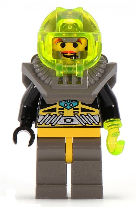 Minifigura LEGO Aquazone Aquaraiders - Sam Spazzino del Mare