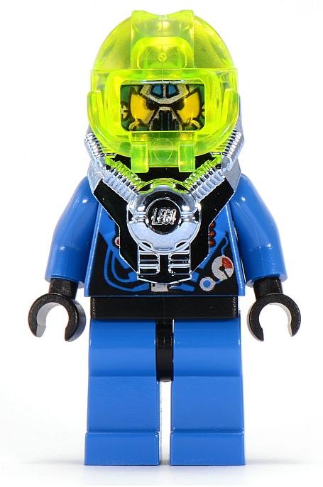 Minifigura LEGO Aquazone Hydronauts - Navigatore Acque Fangose