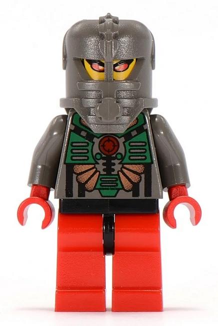 Minifigura LEGO Aquazone Stingrays - Comandante Manta Ray