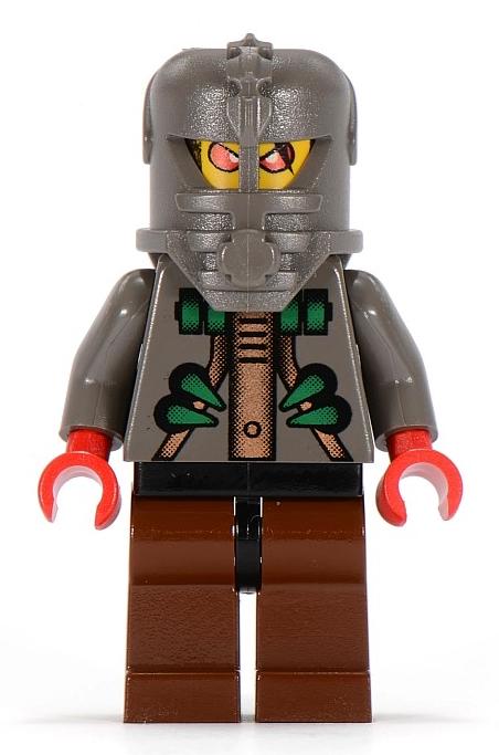 Minifigura LEGO Aquazone Stingrays - Membro Raven Ray