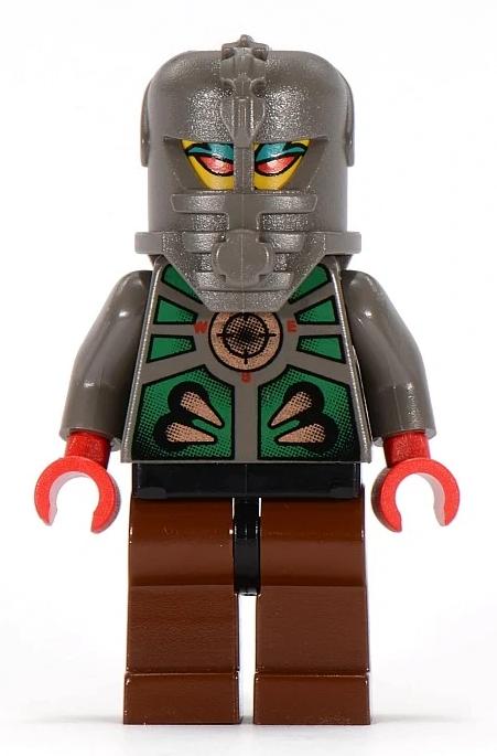 Minifigura LEGO Aquazone Stingrays - Navigatore Stinger Ray