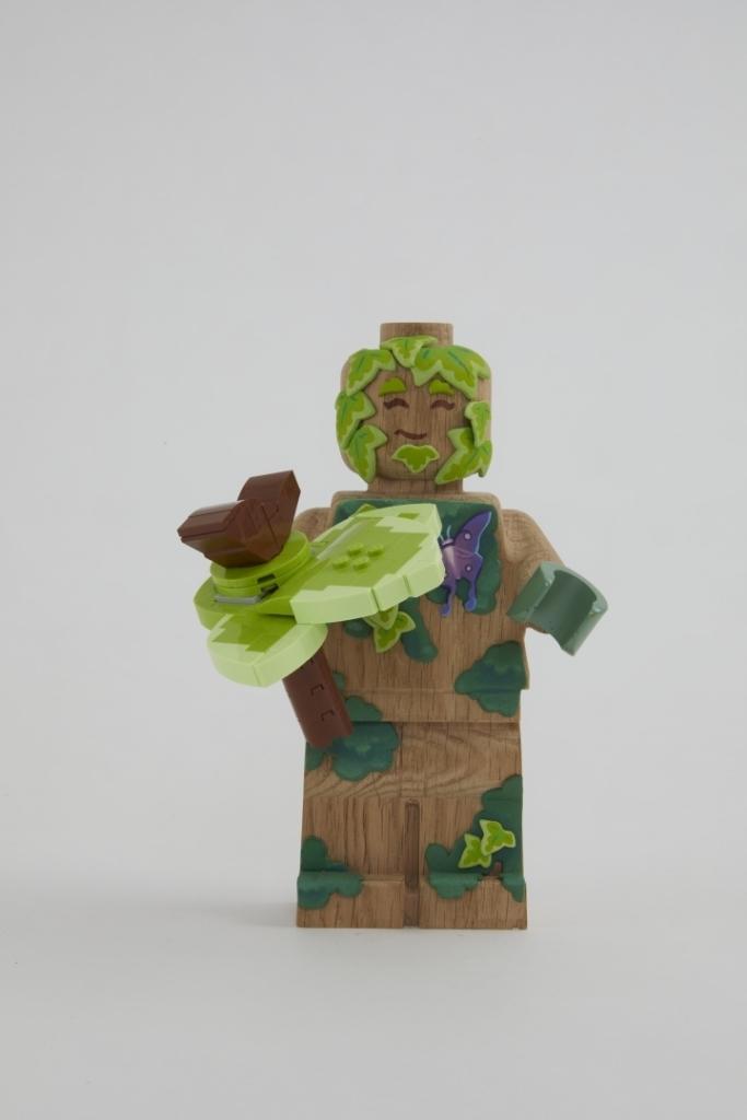 Minifigura LEGO Originals in LEGNO Iconico - Set 853967 - Figura Personalizzata 3