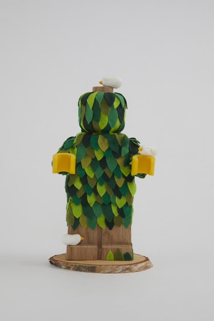 Minifigura LEGO Originals in LEGNO Iconico - Set 853967 - Figura Personalizzata 4