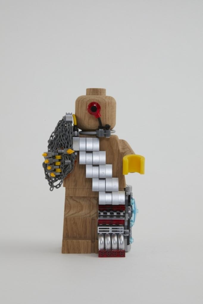 Minifigura LEGO Originals in LEGNO Iconico - Set 853967 - Figura Personalizzata 6