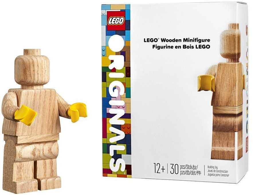 Minifigura LEGO Originals in LEGNO Iconico - Set 853967