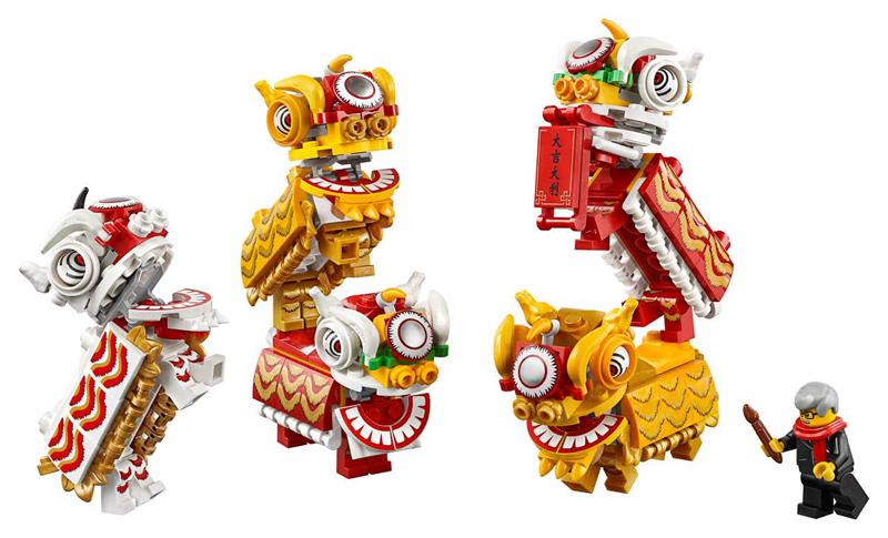 Novità LEGO Capodanno Cinese - 2020 - Set LEGO Danza del Leone e Tradizionale Fiera del Tempio 2