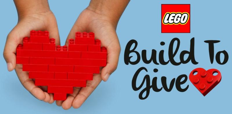 Ricostruiamo il Mondo con i Mattoncini LEGO per donare Amore!