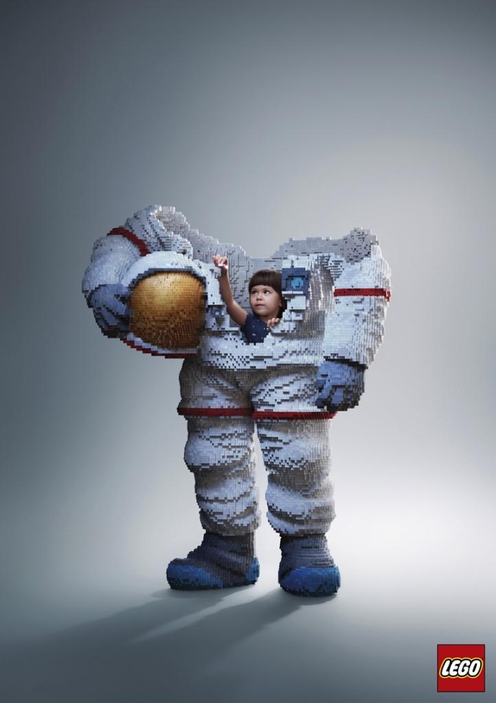 Ricostruiamo il Mondo con i Mattoncini LEGO - Astronauti