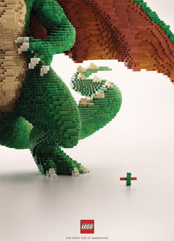 Ricostruiamo il Mondo con i Mattoncini LEGO - Un Drago!