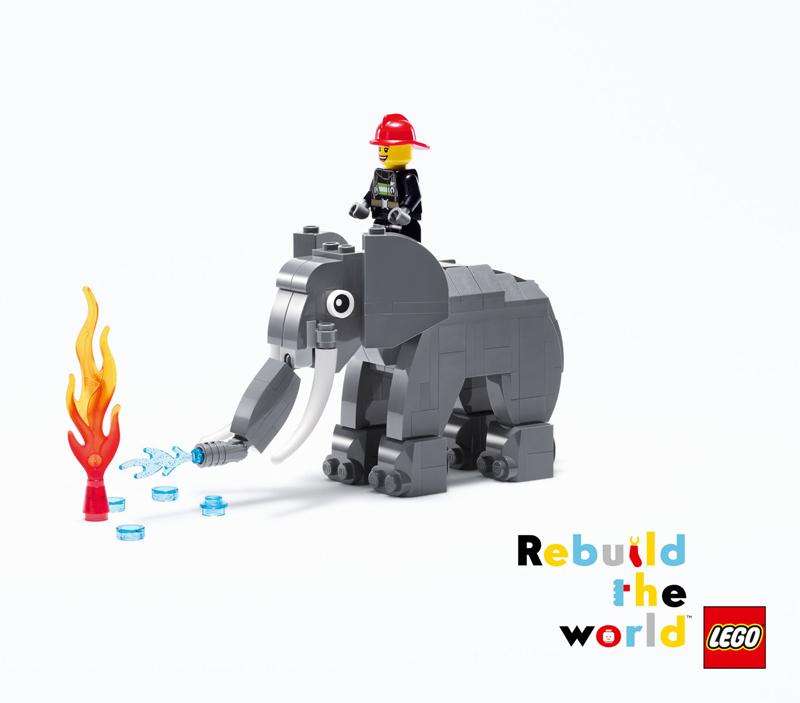 Ricostruiamo il Mondo con i Mattoncini LEGO - Elefante