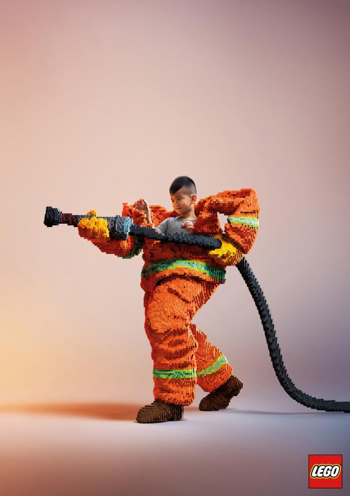 Ricostruiamo il Mondo con i Mattoncini LEGO - Pompieri
