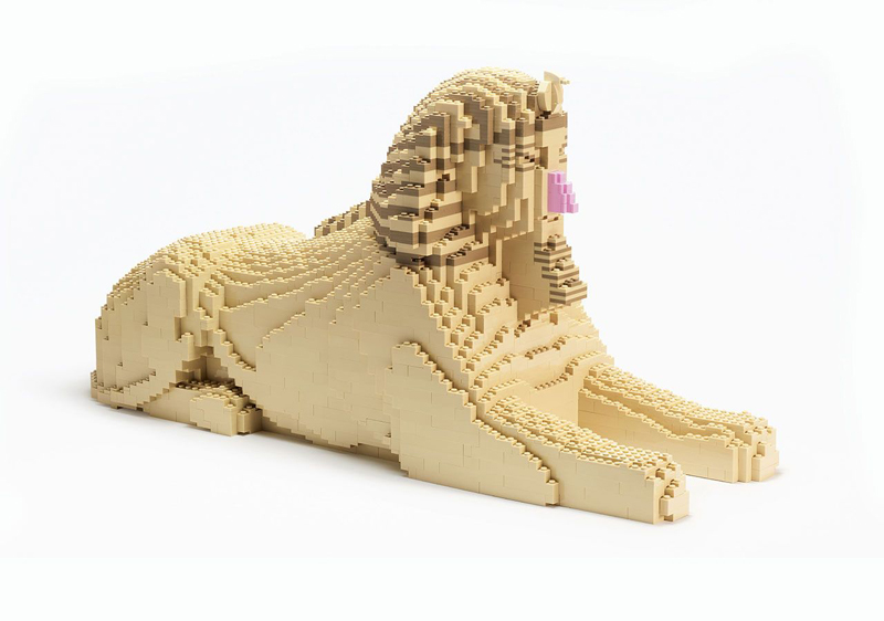 Ricostruiamo il Mondo con i Mattoncini LEGO - Sfinge d'Egitto