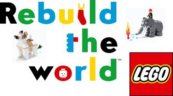 Ricostruiamo il Mondo con i Mattoncini LEGO – Rebuild The World