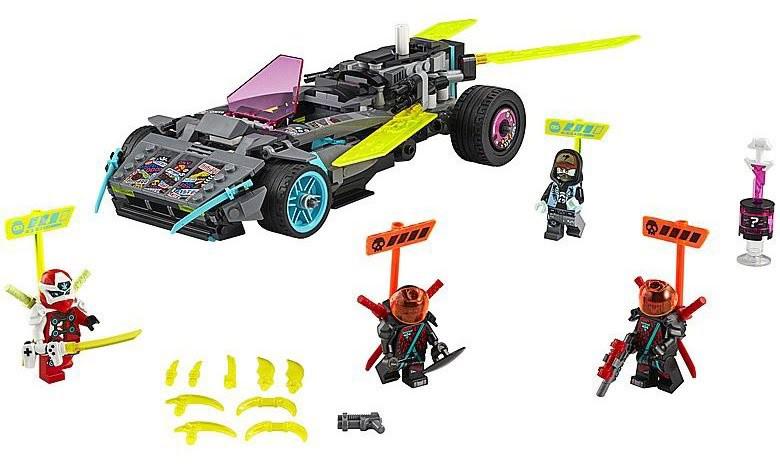 Rivelato Set LEGO Ninjago Auto Elaborata dei Ninja - Set 71710