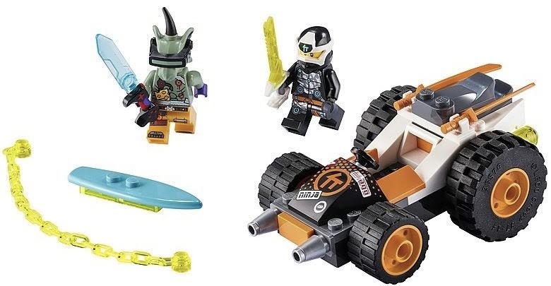Rivelato Set LEGO Ninjago Auto Speeder di Cole - Set 71706