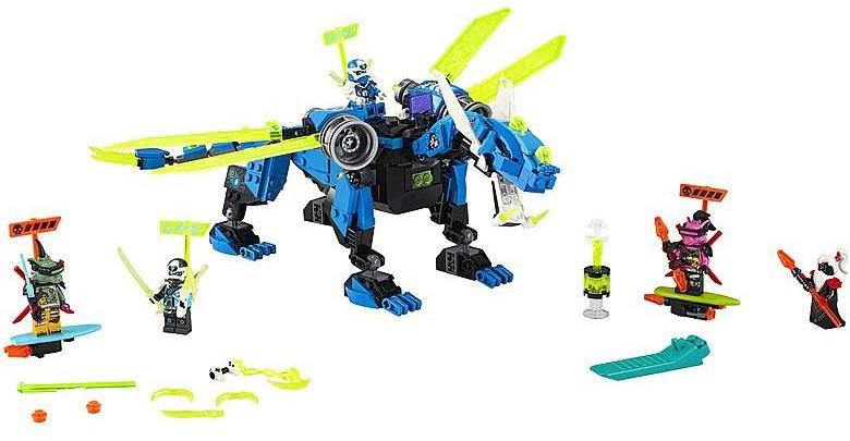 Rivelato Set LEGO Ninjago Drago Cibernetico di Jay - Set 71711