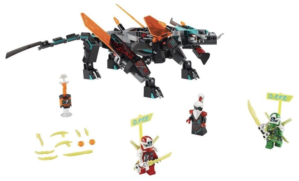 Rivelato Set LEGO Ninjago Drago Imperatore - Set 71713