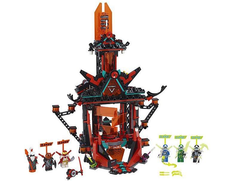 Rivelato Set LEGO Ninjago Impero Tempio della Follia - Set 71712