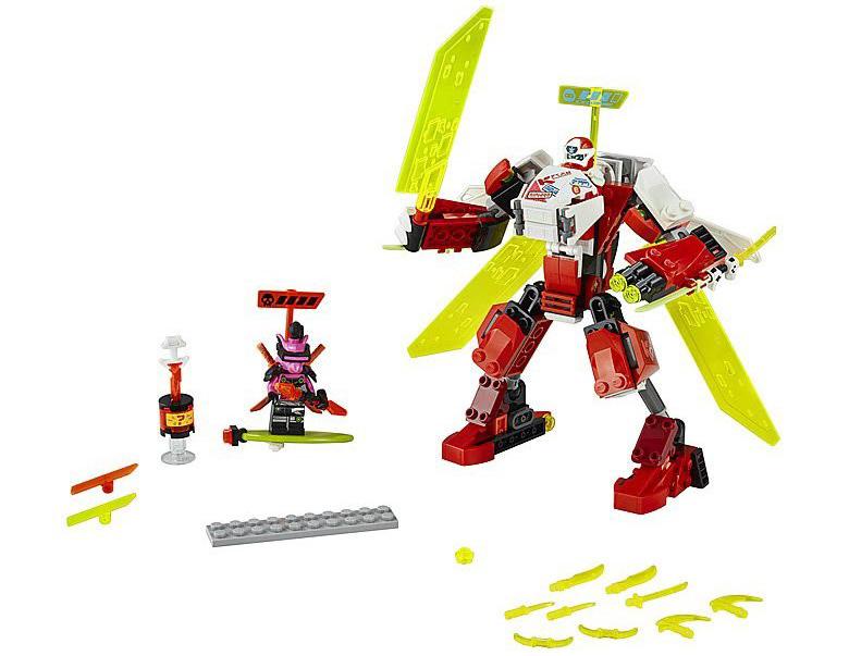 Rivelato Set LEGO Ninjago Mecha Jet di Kai - Set 71707