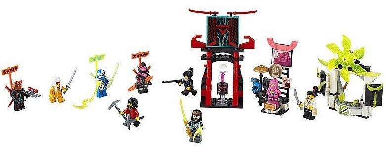 Rivelato Set LEGO Ninjago Mercato del Gamer - Set 71708