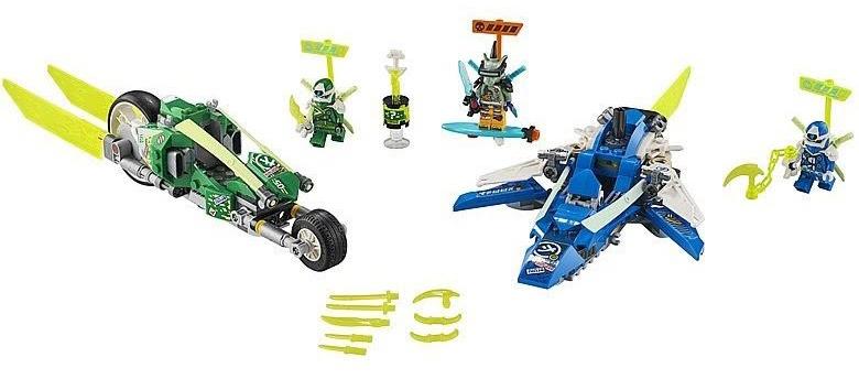 Rivelato Set LEGO Ninjago Mezzi da Velocità di Jay e Lloyd - Set 71709