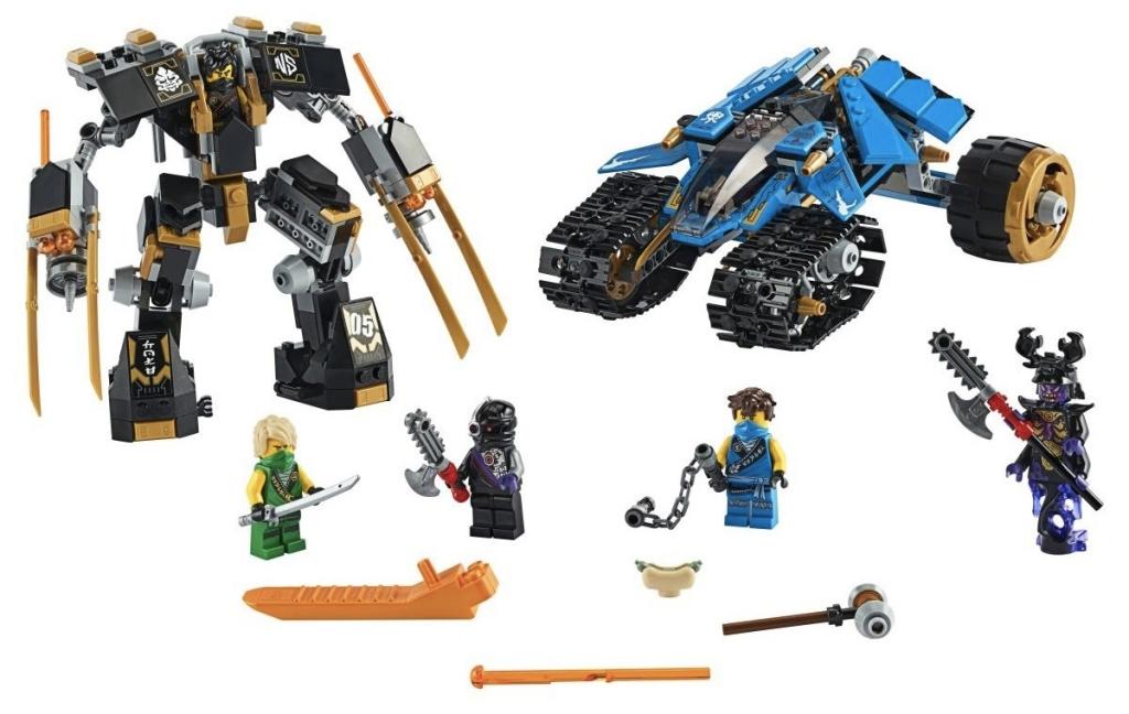 Rivelato Set LEGO Ninjago Predone del Fulmine - Set 71699