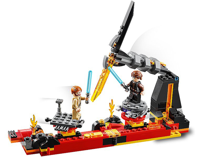 Rivelato Set LEGO Star Wars - Duello su Mustafar - Set 75269
