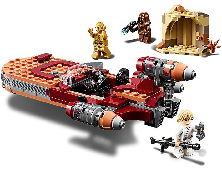 Rivelato Set LEGO Star Wars - Landspeeder di Luke Skywalker - Set 75271