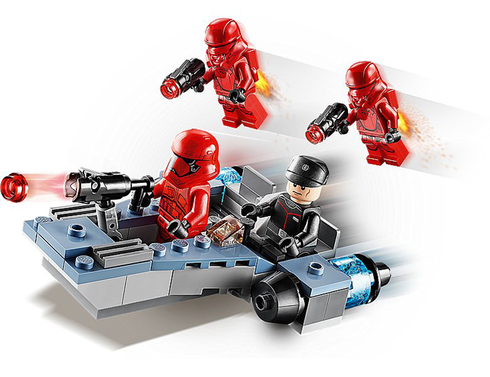 Rivelato Set LEGO Star Wars - Pacchetto da Battaglia del Primo Ordine - Set 75266