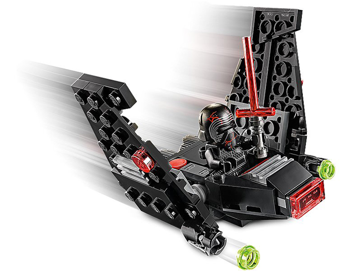Rivelato Set LEGO Star Wars - Shuttle Microfighter di Kylo Ren - Set 75264