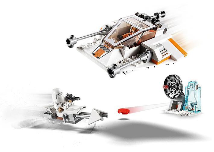 Rivelato Set LEGO Star Wars - Snowspeeder - Set 75268