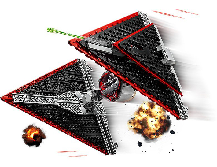 Rivelato Set LEGO Star Wars - TIE Fighter dei Sith - Set 75272
