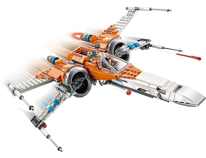 Rivelato Set LEGO Star Wars - X-Wing Fighter di Poe Dameron - Set 75273