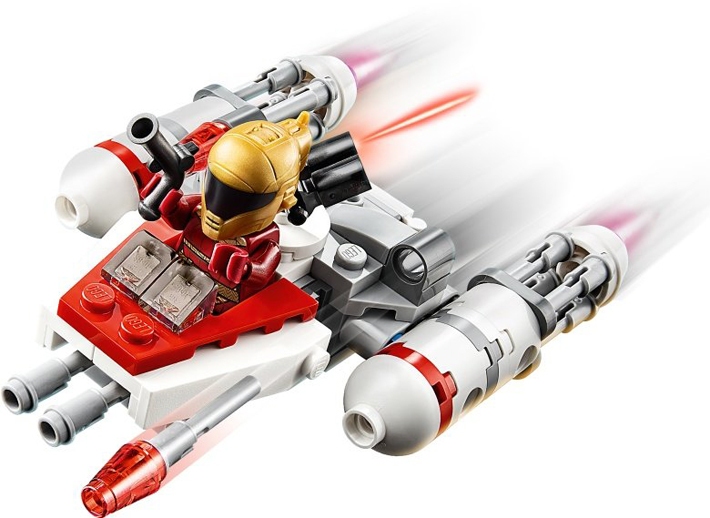 Rivelato Set LEGO Star Wars - Microfighter Y-Wing - Set 75263