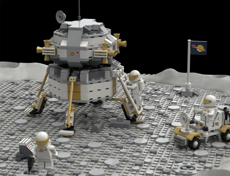 Educazione LEGO - Base Lunare