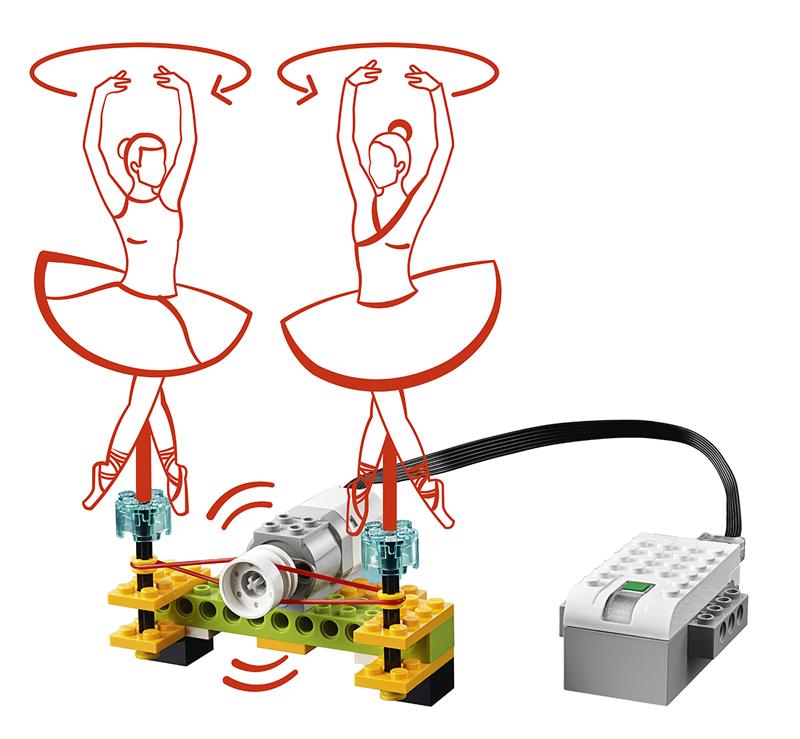 Educazione LEGO - Crea un Robot Danzante