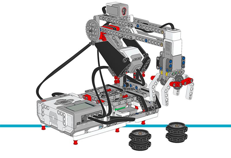 Educazione LEGO - Crea un Robot per Selezionare e Posizionare