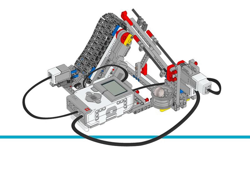 Educazione LEGO - Crea un Sistema di Trasporto Industriale