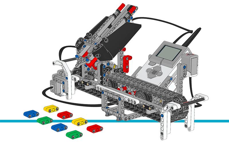 Educazione LEGO - Crea una Macchina Selezionatrice