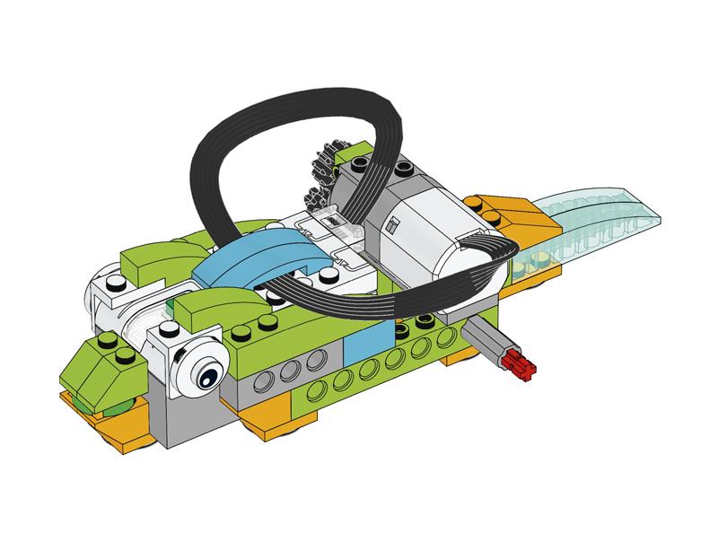 Educazione LEGO - Metamorfosi della Rana