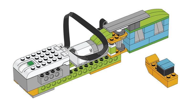 Educazione LEGO - Prevenzione delle Inondazioni, Chiusa Automatica