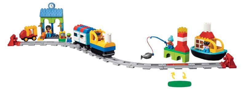 Educazione LEGO - Primo viaggio in Treno